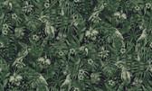 2979-37210-1 Susila Green Tropical Wallpaper