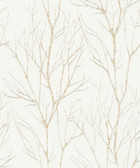 2979-37260-3 Diani Gold Metallic Tree Wallpaper