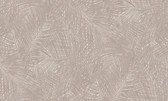 2979-37371-2 Raina Taupe Fronds Wallpaper