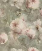 2814-467314 Innocent Light Brown Watercolor Floral Wallpaper