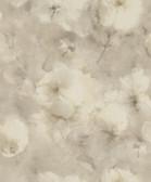 2814-467352 Innocent Beige Watercolor Floral Wallpaper
