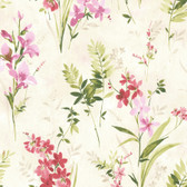 2814-21627 Turner Multicolor Watercolor Floral Wallpaper
