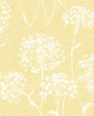 2814-24574 Garvey Yellow Dandelion Wallpaper
