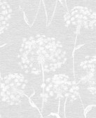 2814-24575 Garvey Light Grey Dandelion Wallpaper