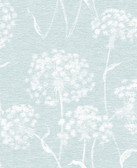 2814-24576 Garvey Light Blue Dandelion Wallpaper