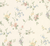 2814-25191 Marcus Multicolor Floral Trail Wallpaper