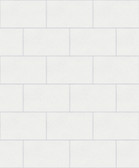 2814-M1054 Neale White Subway Tile Wallpaper
