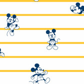 DI0931 Disney Mickey Mouse Stripe Wallpaper