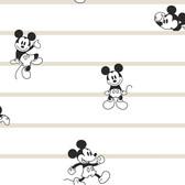 DI0932 Disney Mickey Mouse Stripe Wallpaper