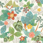 DI0995 Disney Moana Jungle Wallpaper