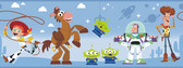 DI1019BD Disney and Pixar Toy Story 4 Border Wallpaper Border
