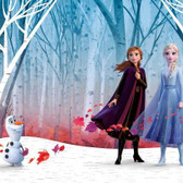 RMK11415M Disney Frozen 2 Woodland Tree Peel And Stick Mural