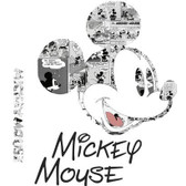 RMK2860TB Disney Mickey Mouse Comic Giant Wall Decal