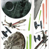 RMK3076GM Star Wars Classic Ships Giant Wall Decals