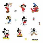 RMK3831SCS Disney Micky The True Original 90Th Wall Decals Blacks