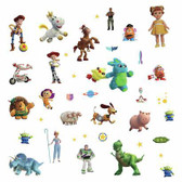RMK4008SCS Disney And Pixar Toy Story 4 Wall Decals Blues