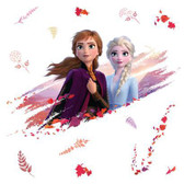 RMK4076GM Disney Frozen 2 Anna & Elsa Giant Wall Decals Pinks