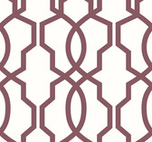 GM7520 Hourglass Trellis Wallpaper