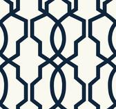 GM7521 Hourglass Trellis Wallpaper