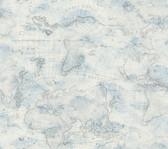 PSW1131RL Coastal Map Peel and Stick Wallpaper