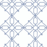 PSW1139RL Seawater Diamond Trellis Peel and Stick Wallpaper