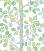PSW1209RL Forest Leaves Peel and Stick Wallpaper