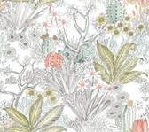 PSW1213RL Flowering Desert Peel and Stick Wallpaper
