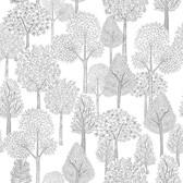 PSW1189RL Treetops Peel and Stick Wallpaper