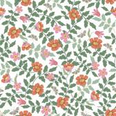 PSW1313RL Primrose Peel and Stick Wallpaper - Rose/Cream