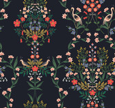 PSW1326RL Luxembourg Peel and Stick Wallpaper - Black