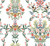 PSW1327RL Luxembourg Peel and Stick Wallpaper - White