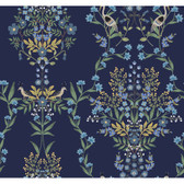 PSW1328RL Luxembourg Peel and Stick Wallpaper - Blue