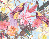 WALS0387 - Tropical Exotic Flowers Wall Mural