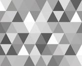 WALS0414 - Triangular Geometric Pattern Wall Mural