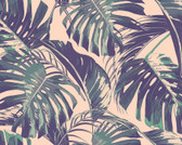 WALS0440 - Palm Leaves Wall Mural