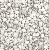 NHS3686 - River Stones Peel & Stick Wallpaper