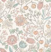 NUS3623 - Pastel Southern Trail Peel & Stick Wallpaper