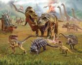 WT46504 - Dinosaur Land Wall Mural
