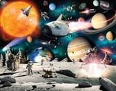 WT46511 - Space Adventure Wall Mural