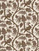 SCS3877 - Java Balinese Peacock Scalamandre Self Adhesive Wallpaper