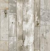 NH3552 - Driftwood Peel & Stick Wallpaper