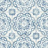 NH3763 - Talavera Tile Peel & Stick Wallpaper