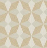 NHS3848 - Majesty Geo Gold Peel & Stick Wallpaper