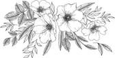 DWPK3903 - Love Karla Designs Wild Blossoms Wall Decal
