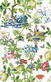 SCS3840 - Bloom Shantung Garden Scalamandre Self Adhesive Wallpaper