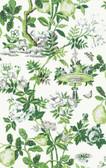 SCS3841 - Verdance Shantung Garden Scalamandre Self Adhesive Wallpaper