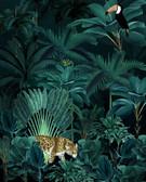 X4-1027 - Jungle Night Wall Mural