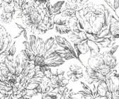 X6-1036 - Flowerbed Wall Mural