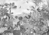 X7-1016 - Flora and Fauna Wall Mural