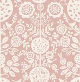 NUS4032 - Pink Anya Peel & Stick Wallpaper